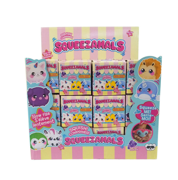 Squeezamals Blind Box25 Inch - Pet Series