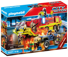 Playmobil - Fire Engine with Truck