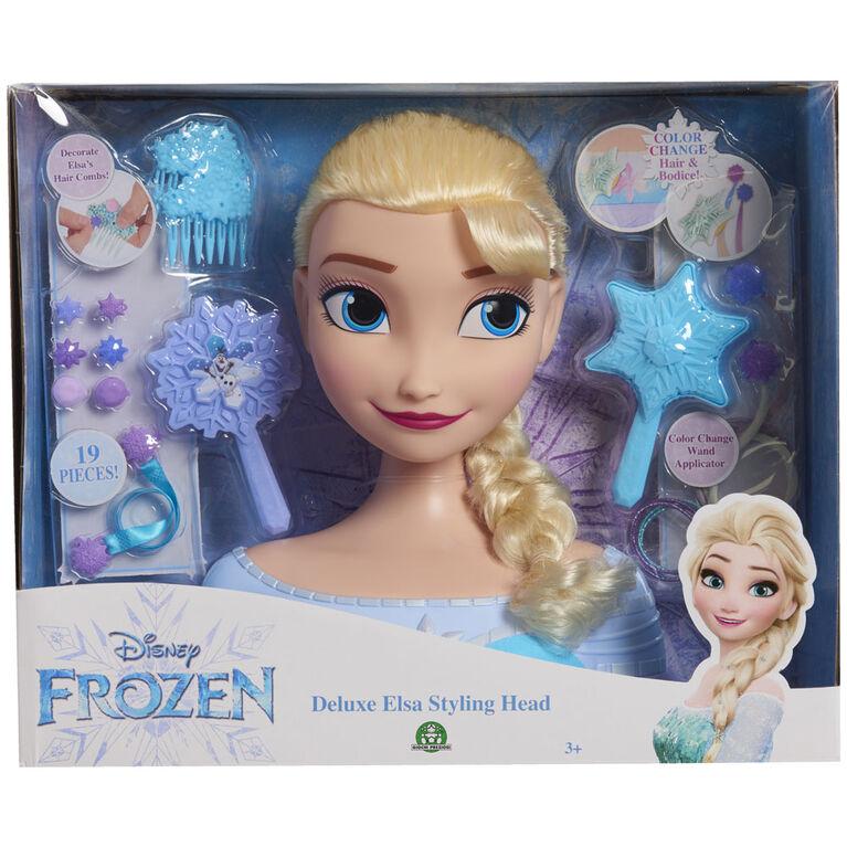 Disney Frozen Elsa Deluxe Styling Head - R Exclusive
