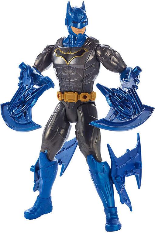 DC Comics - Batman Missions - Figurine articulée de 30 cm (12 po) - Batman Puissance de combat.