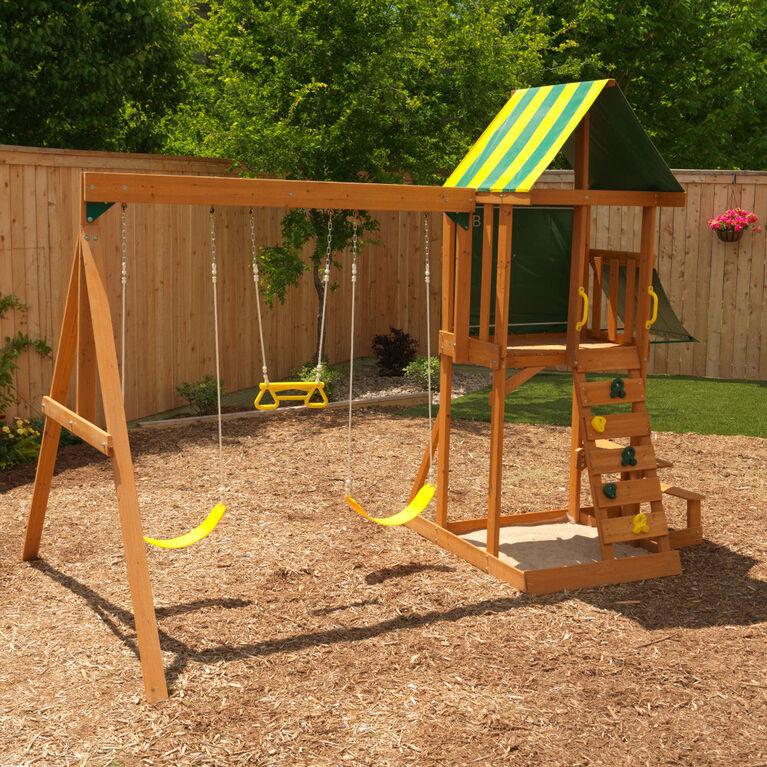 KidKraft Spring Meadow Wooden Swing Set