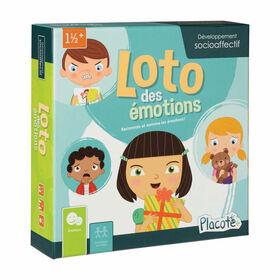 Loto des émotions - Placote - jeu éducatif - Édition française