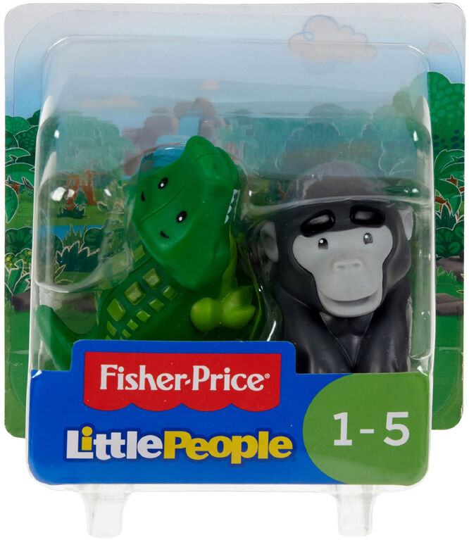Fisher-Price Little People Alligator & Gorilla