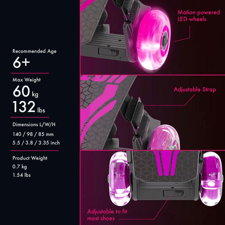 Neon Street Roller - Rose