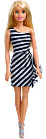 Barbie Glitz Doll, Black Stripes