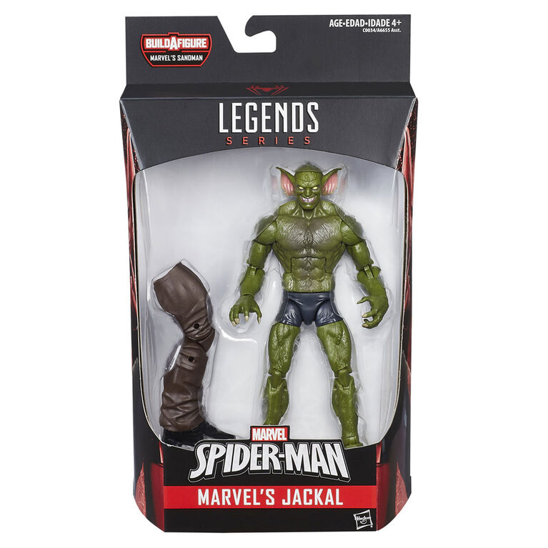 Marvel Spider-Man Legends Series - figurine Marvel's Jackal de 15 cm.