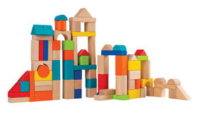 Imaginarium Discovery - Wooden Blocks 75 Pieces