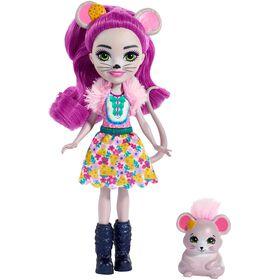 Enchantimals Mayla Mouse Doll & Fondue Figure