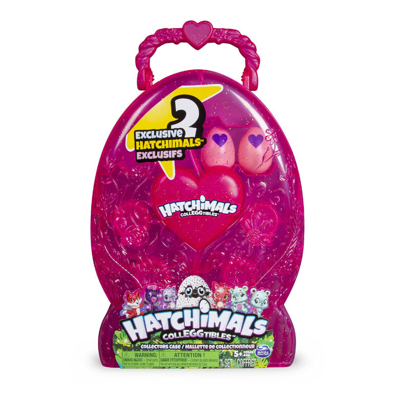 Hatchimals CollEGGtibles - Collector's Case with 2 Exclusive Hatchimals CollEGGtibles