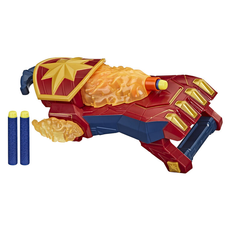 NERF Power Moves Marvel Avengers Décharge photonique Captain Marvel