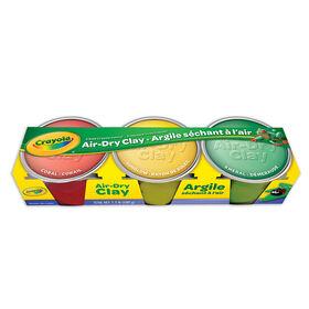 Crayola - Air Dry Clay - 3 ct
