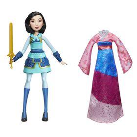Disney Princess - Audacieuses aventures de Mulan.
