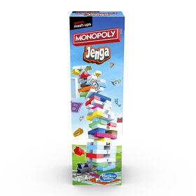 Game Mashups Monopoly Jenga - English Edition - R Exclusive