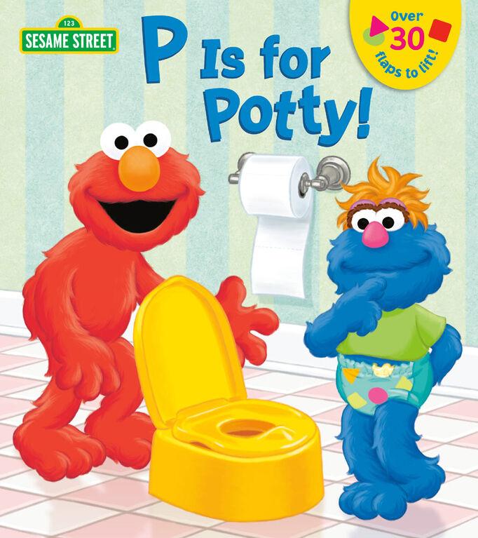 Random House BFYR - P is for Potty! (Sesame Street) - English Edition