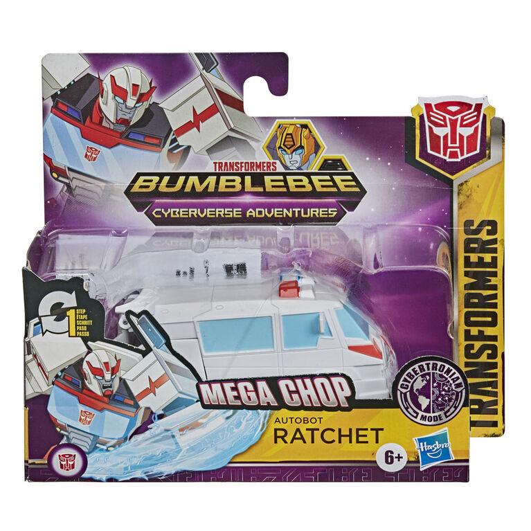 Transformers figurine Action Attackers Autobot Ratchet à conversion 1 étape