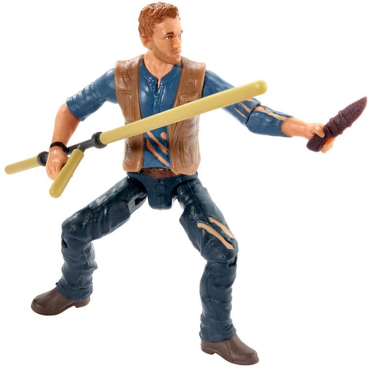 Jurassic World Owen Lockwood Battle