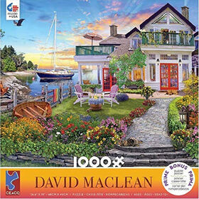 Ceaco David Maclean 1000PC Puzzle Evasion Côtière