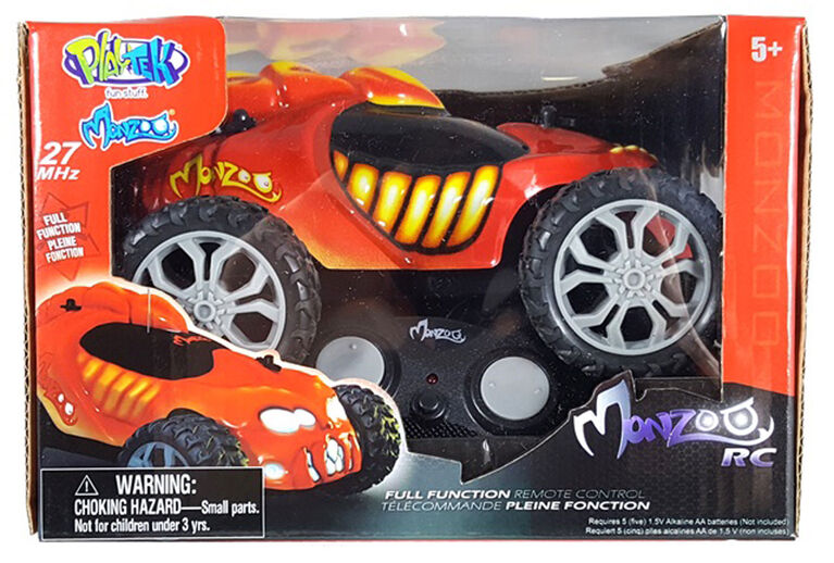 Monzoo – 1:22 Full Function RC Monster - Series 1 - 49MHZ/ Red