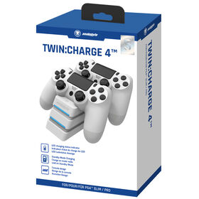 PlayStation 4 snakebyte Twin:Charge 4 White