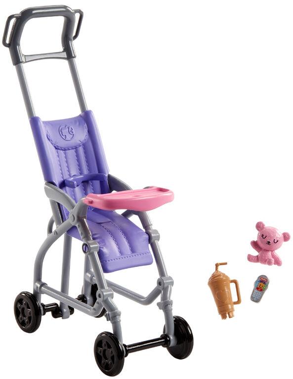 Barbie Skipper Babysitters Inc. Stroller Playset