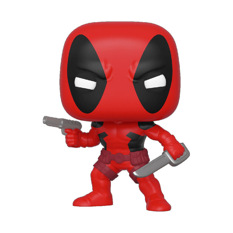 Figurine en Vinyle Deadpool Par Funko POP! Marvel 80th