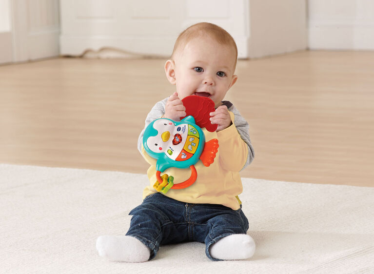 Lil' Critters Sing & Smile Teether - English Edition