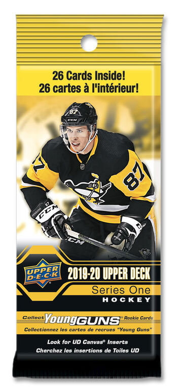 2019-20 Upper Deck NHL Series 1 Fat Pack