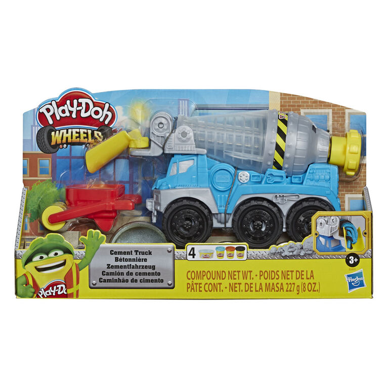 Play-Doh Wheels Cement Truck Toy