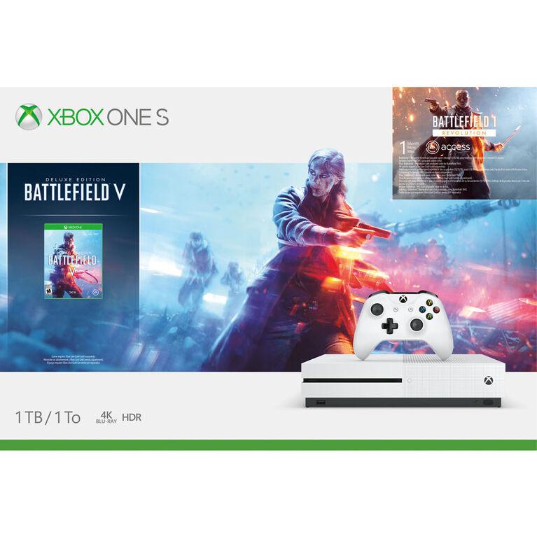 Xbox One - Xbox One S 1TB Battlefield V