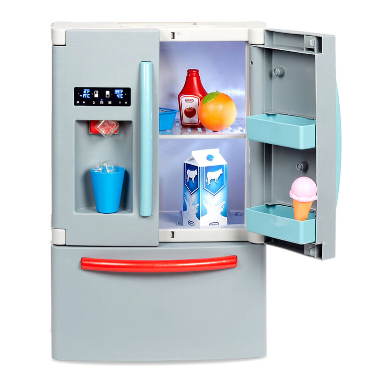 Little Tikes First Fridge Realistic Pretend Play Appliance