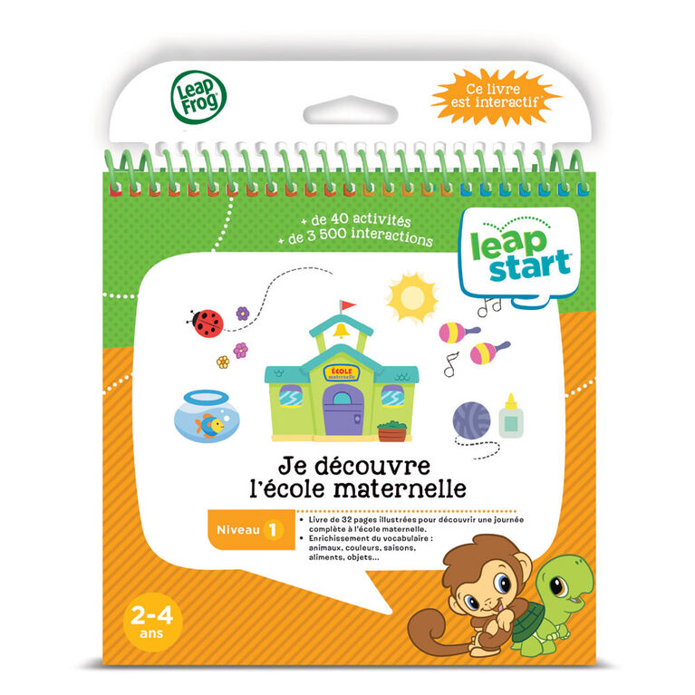 LeapFrog LeapStart Daily Routines with Health & Wellness - Activity Book - French Edition