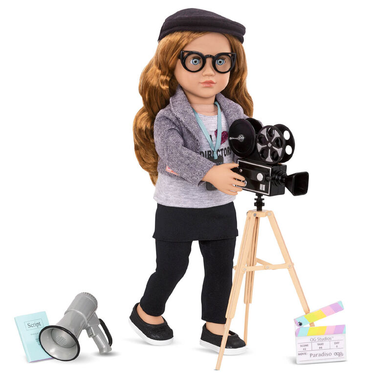 Our Generation, Camera'S Rolling!, Movie Accessory Set for 18-inch Dolls
