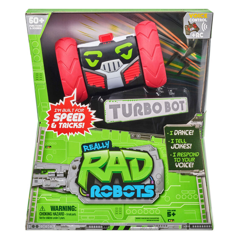 Really Rad Robots - Turbo Bot - Édition anglaise