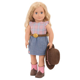 Our Generation, Lea Rose, 18-inch Horseback Riding Doll