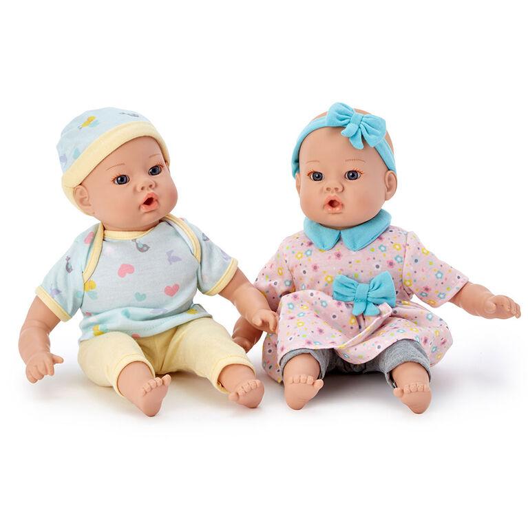 Madame Alexander - 12Inch Lil' Cuddles Twin Set