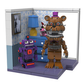 Five Nights at Freddy's  Small Construction Set - Right Dresser & Door