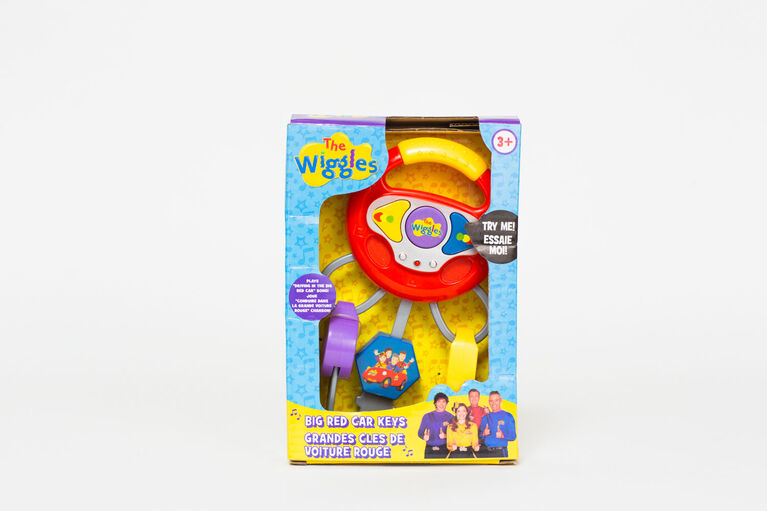 The Wiggles Big Red Car Keys