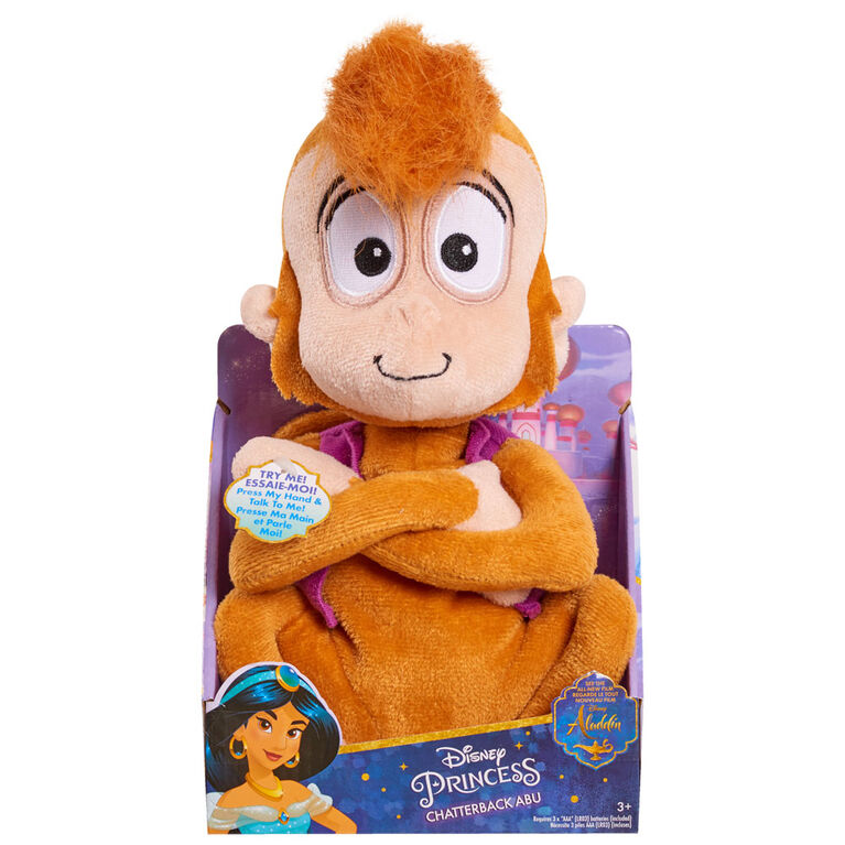 Disney Aladdin Chatterback Plush