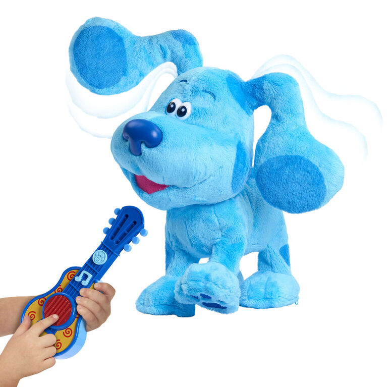 Blue's Clues & You! Dance-Along Blue Plush - English Edition - R Exclusive