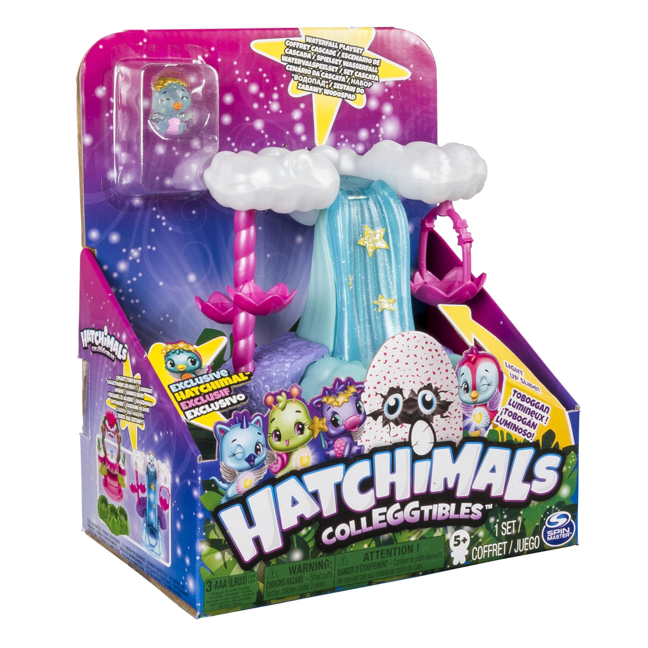 Hatchimals. Starlight Pool Colleggtibles Star Waterfall PlayseT