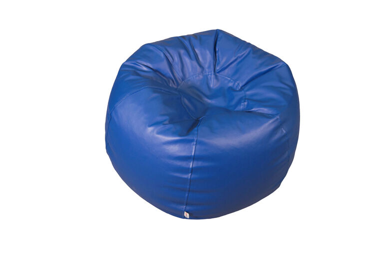 Comfykids™ Teen Bean Bag - Blue Vinyl