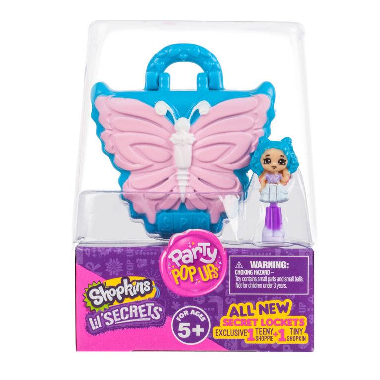 Shopkins Lil Secrets Secret Locket - Butterfly Nail Boutique