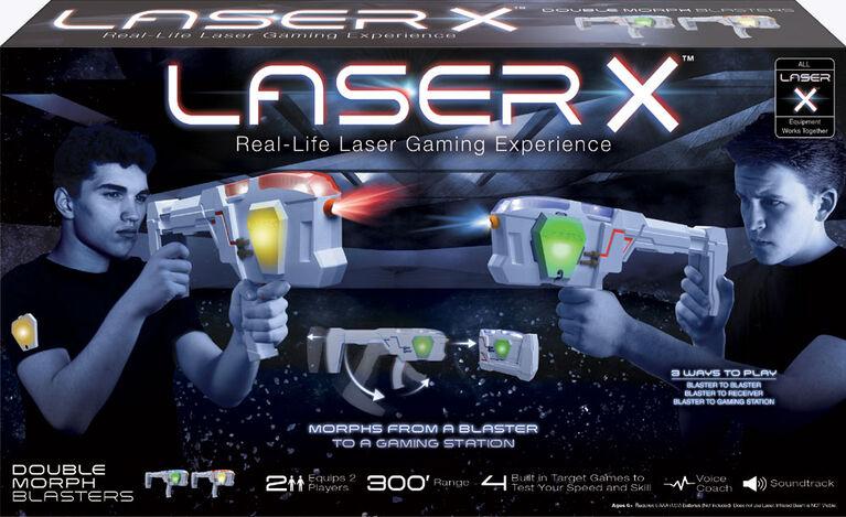 Laser X - Double Morph Blasters
