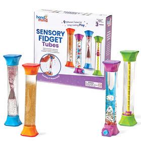 Tubes sensoriels à manipuler, par Hand2Mind