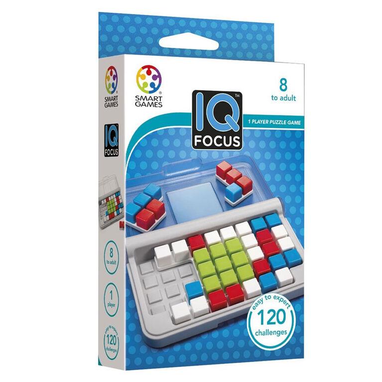 Smart Games - Pres-12- Iq Focus Multi