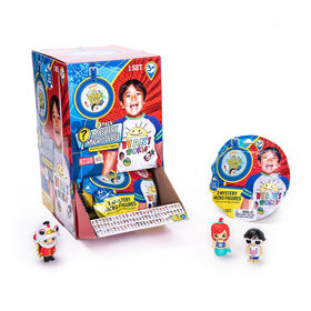 Ryan's World World Tour - Mystery Micro Figures 2 Pack