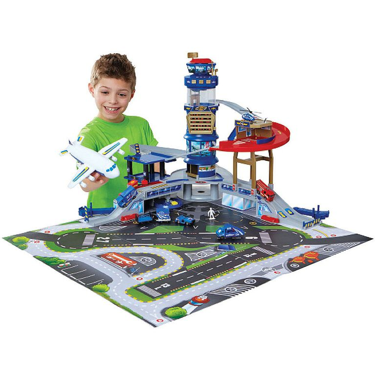 Fast Lane - Multi-Level Airport Playset