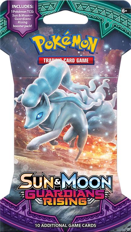 "Pokemon Sun & Moon ""Guardians Rising"" Sleeved Booster"