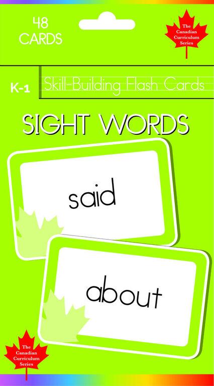K-1 Skill Building - Sight Words - English Edition