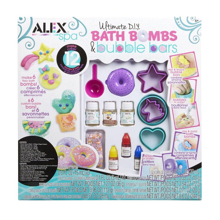 ALEX Spa - Ultimate D.I.Y. Bath Bombs & Bubble Bars